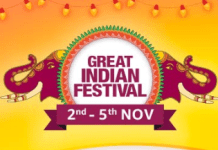 Amazon Great Indian Festival Sale November 2018 is Back (2nd-5th Nov)