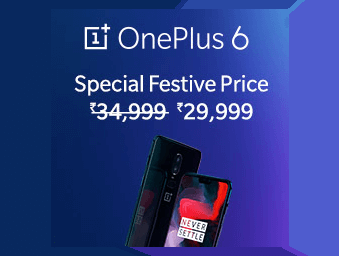 OnePlus 6 at Loot Price