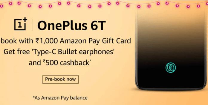 Prebook OnePlus 6T
