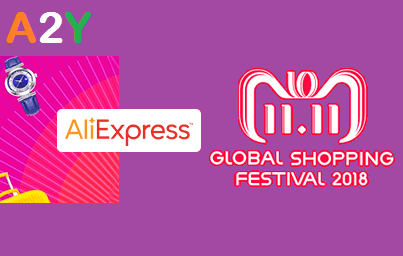 AliExpress 11.11 Global Shopping Sale - Flat Upto 80% off Sitewide