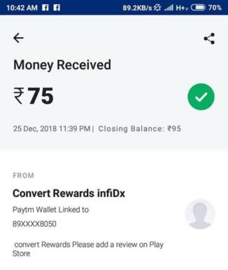 Convert Google Play Reward Proof 2