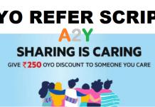 Oyo Refer Script