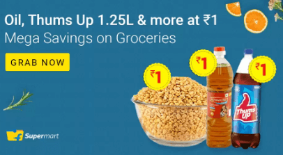 Flipkart Supermart Grocery Offer