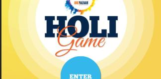 Big Bazaar Holi Game