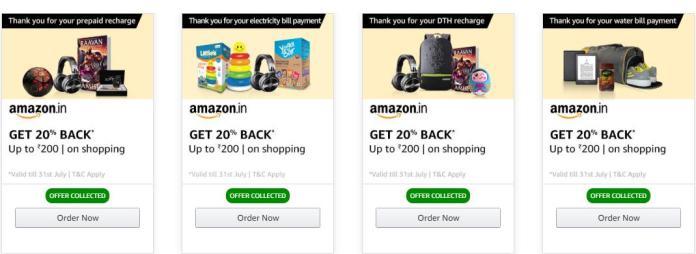 Amazon Prime Free Order