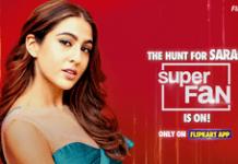 Flipkart Superfan Sara Ali Khan