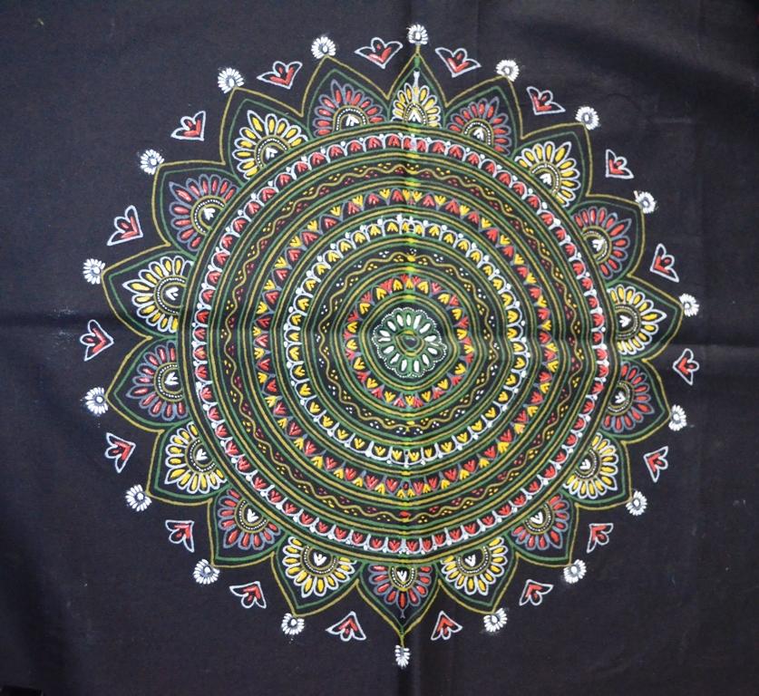 Rogan Painting The Art of Creating Design on Fabrics