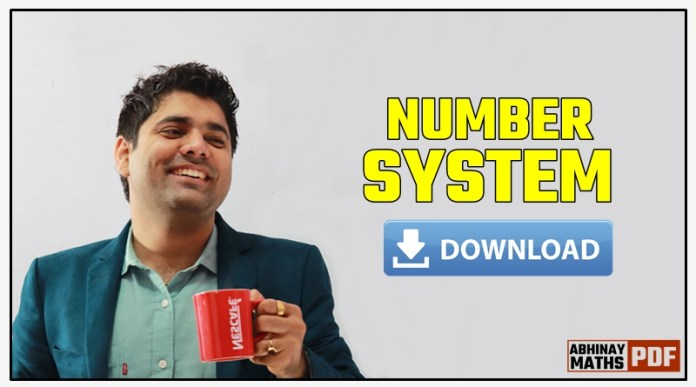 Number-System-Abhinay-Maths-PDF-Note