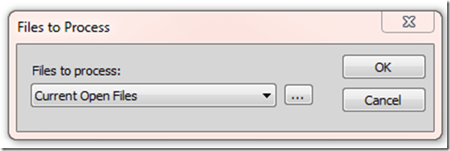Open The File To Be Processed in Batch