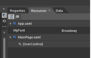 Expression Blend 4 : Application Resource