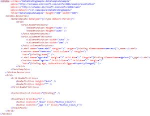 WPF Data Context
