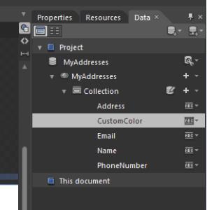 Expression Blend 4 : Edit Sample Values Format