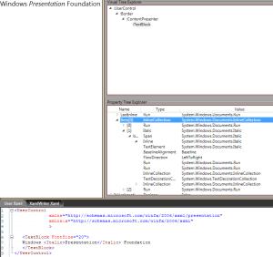 WPF Inline Text