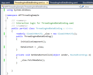 WPF Databinding and Threading