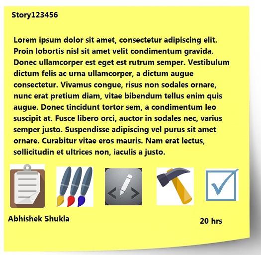 Sticky Note Icons