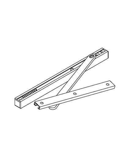 1000A Series Concealed Mount Overhead Stop & Holder