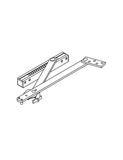 8000 Series Surface Mount Overhead Stop & Holder