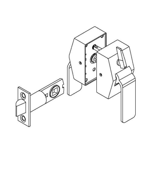 small resolution of picture of 6400 series privacy hospital latch pull side thumbturn