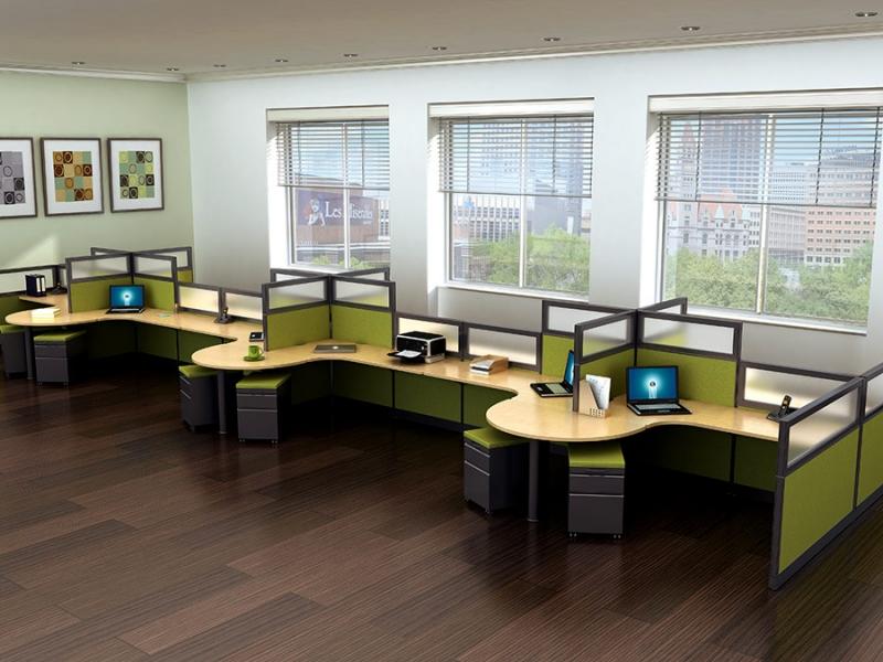 Echo Phoenix Office Cubicles  Workstations  Echo