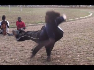 Part 1: Capoeiragem: EXTREME Afrikan Combat Capoeira Fight Highlights!