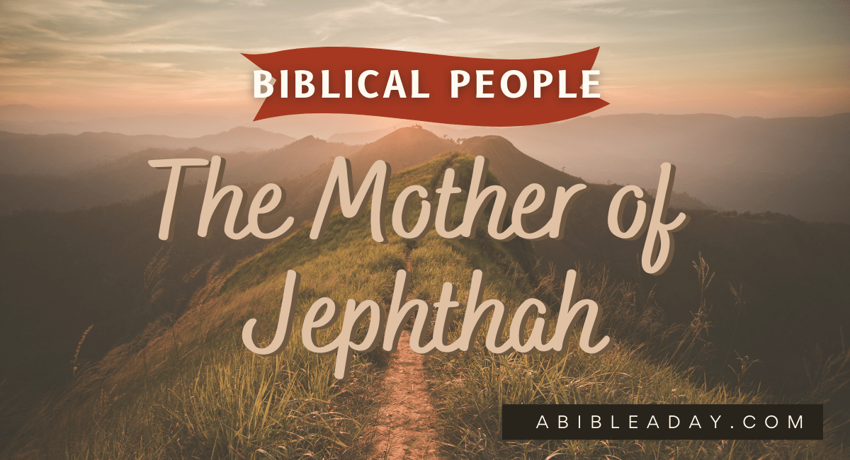 The Mother of Jephthah