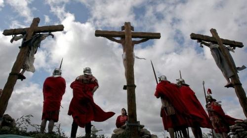 Resultado de imagem para crucificação