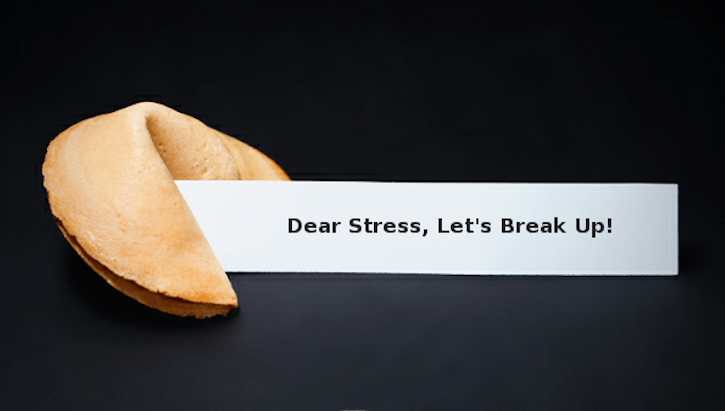 dear stress, lets break up