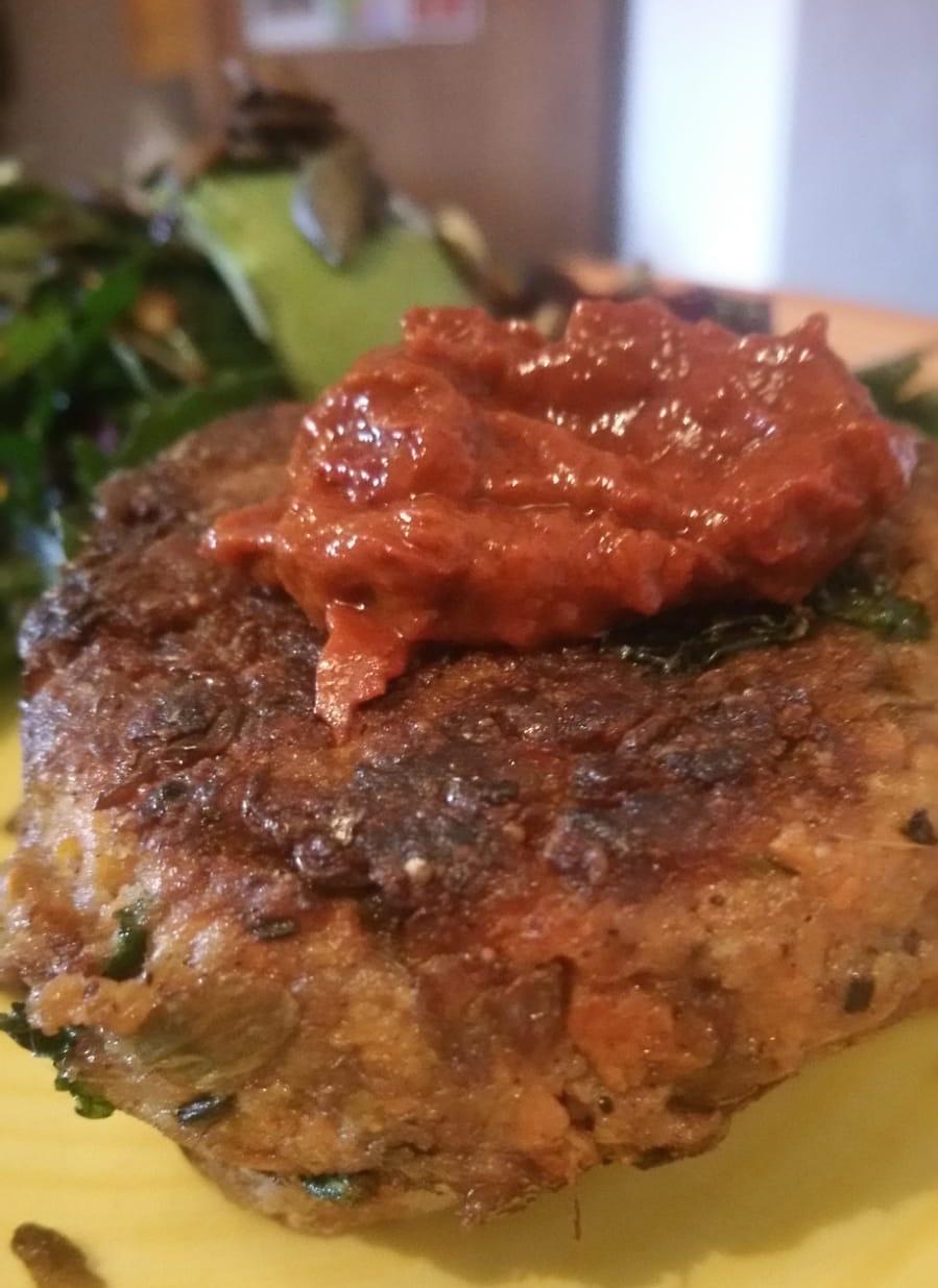 Meatiest Meatless Burger. Vegan, Gluten Free,