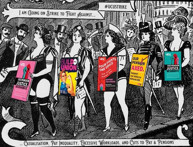 Striking Victorian belles. Image by Dr Bob Nicholson @DigiVictorian