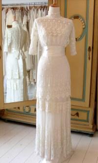 Edwardian wedding dresses | Abigail's Vintage Bridal