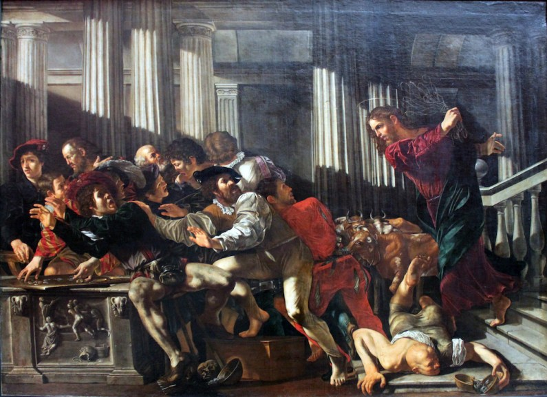 Goodly Fere, Caravaggio Painting, Christ Expulses Money Changers