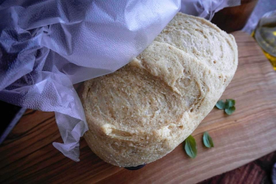 خبز الكيتو دايت بعد تخميرة