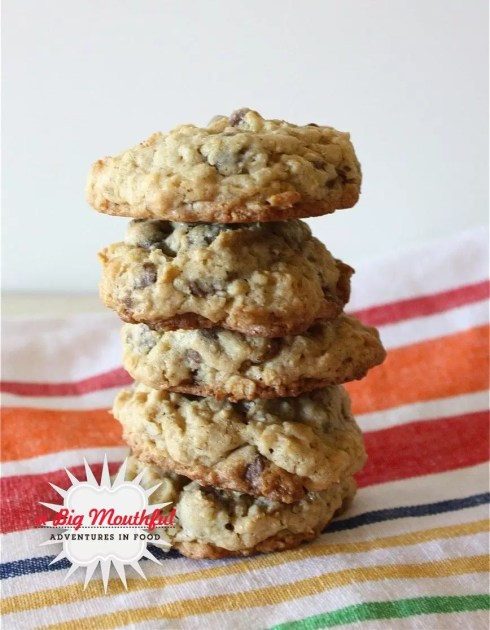 Gluten-Free Oatmeal Chocolate Chip Cookies