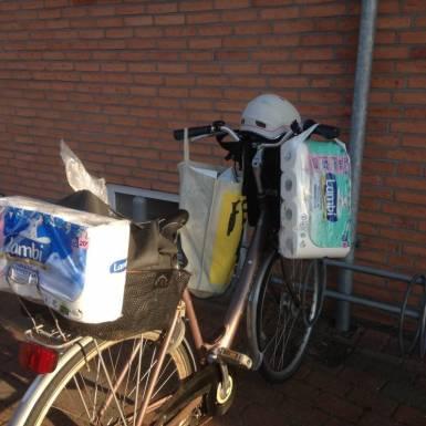 Cyklen er godt fyldt op og 2 gevinster er med