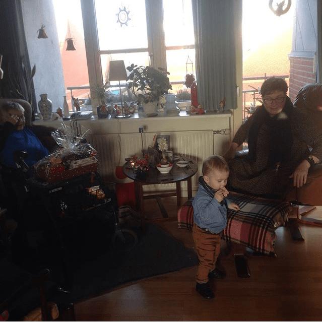 På julebesøg hos Olde
