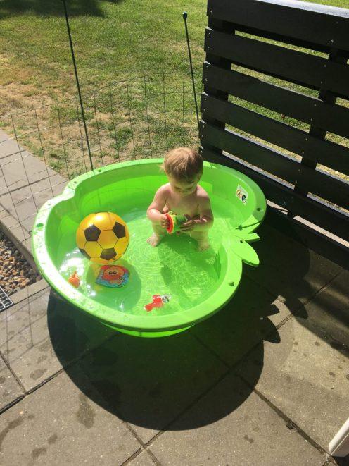 Så vidunderligt med badebassin