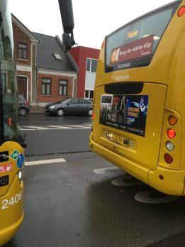 Busterminalen - busskifte