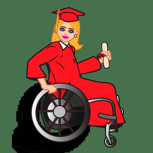 wheelchair emoji girls room chair disability abilities expo community