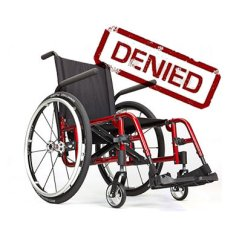 Wheelchair Fight Desk Chair Kohls Fighting For Access Getting The Right Ki Catalyst Shown With Denied Stamp
