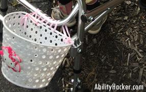 Walker Basket with Ribbon