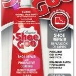 Shoe Goo - a magical substance for repairing shoes