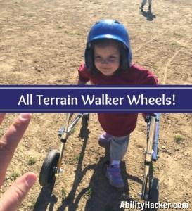 All Terrain Walker Wheels - Making T-Ball Possible