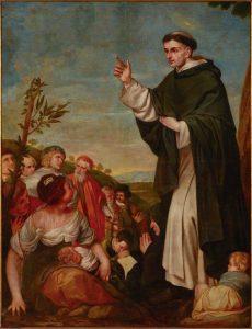 S. Vicente pregando