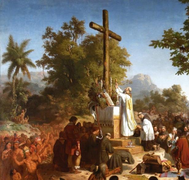 Primeira Missa no Brasil – Victor Meirelles, 1860. Museu Nacional de Belas Artes, Rio de Janeiro.