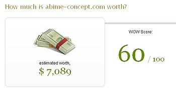 Connaître la valeur marchande de votre site web en EUROS !