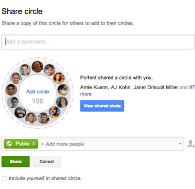 Cercles GOOGLE+, Communautés et Hangouts pour communiquer