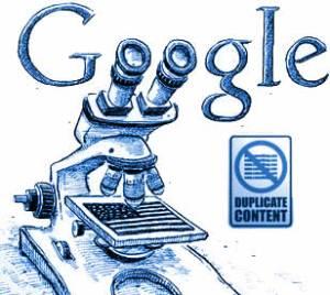 Duplication de contenu web