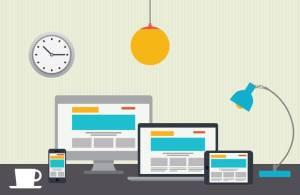 Un site web pas adapté aux mobiles