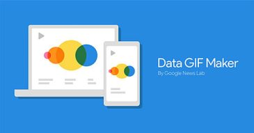 visualisation du storytelling avec google data gif maker