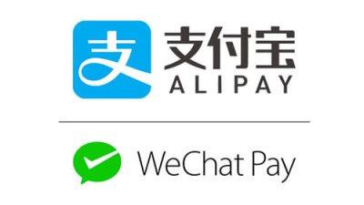 WeChat Pay et Alipay
